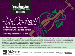 EdVenture After Dark: UnCorked!