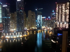 A view of Dubai courtesy of the International Man of Mystery.
